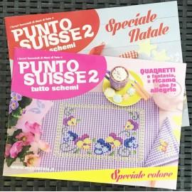 I lavori femminili di Mani di Fata - Punto Suisse tutto schemi 2 speciale colore