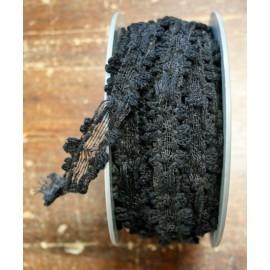 Passamaneria h. 2cm, nero