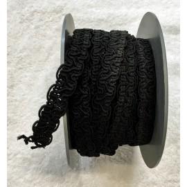 Passamaneria h.2cm, nero