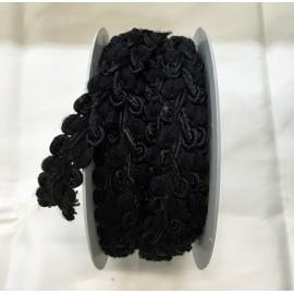 Passamaneria h. 2,5cm, nero