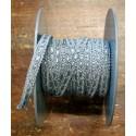 Passamaneria h. 1cm, grigio chiaro