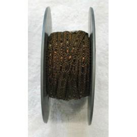 Passamaneria h 1 cm marrone
