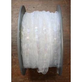 Passamaneria h 1.50 cm, bianco