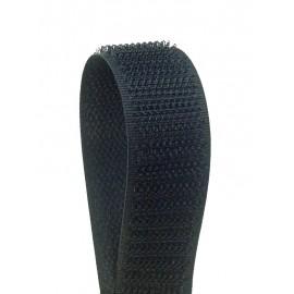 Velcro da cucire nero 20 mm- maschio