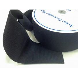 Velcro cucire nero 100 mm - maschio