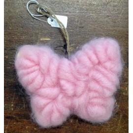 Farfalla in lana ecologica