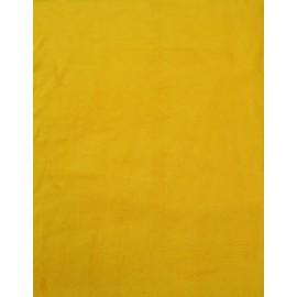 Tessuto di Pile a tinta unita - col. Senape