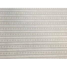 Cloth Lenci Asti 0.45 h - patterned Stripes/polka dots grey