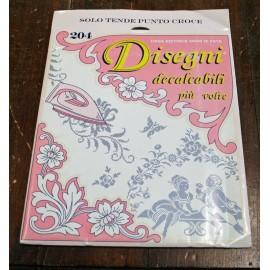 Libro Decalcabili 204 - Speciale tende