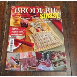 Libro punto croce DMC - Broderie suisse
