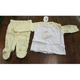 Playsuit entire infant 3/6 months, yellow
