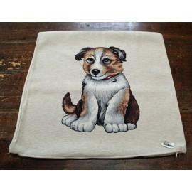 Cuscino gobeline cani