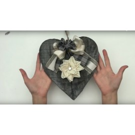 Kit tutorial - Cuore di ardesia