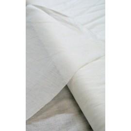 Tela adesiva per seta col. Bianco
