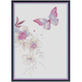 "Schema ""Orchidee e farfalle"""