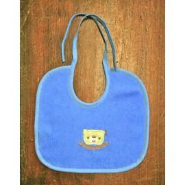 Bavaglina neonato col. Azzurro