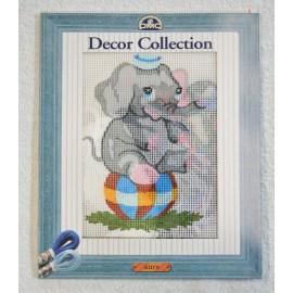 Kit ricamo DMC - Elefante
