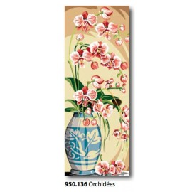 Canovaccio Orchidées art. 950.136