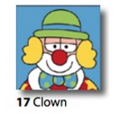 Kit Canovaccio Clown art. 7054.17