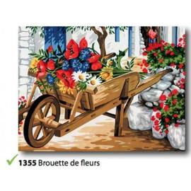 Canovaccio Brouette de fleurs art. 153.1355