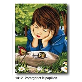 Canovaccio L'escargot et le papillon art. 153.1417
