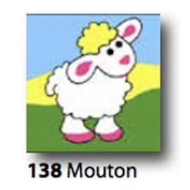 Kit Canovaccio Mouton art. 1435.138