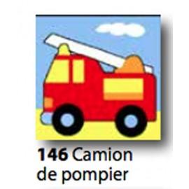 Kit Canovaccio Camion de pompier art. 1435.146