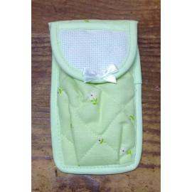 Porta fazzoletti col. verde