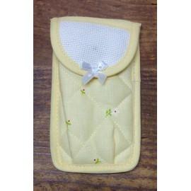 Porta fazzoletti col. giallo
