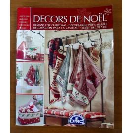 Libro punto croce DMC - Decors de Noel