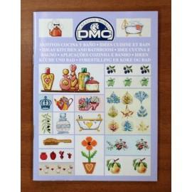 Libro punto croce DMC - Cucina e Bagno
