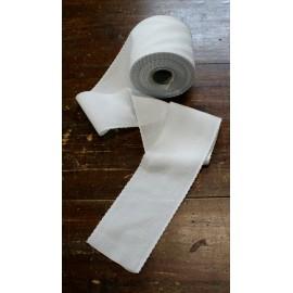 Bordo tela aida 55 fori h 8,5 cm - Col. Bianco
