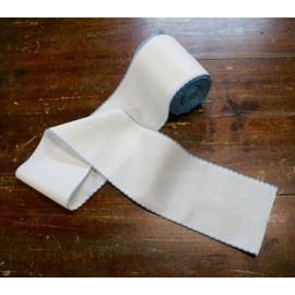 Bordo tela aida 55 fori h 10 cm - Col. Bianco/Azzurro