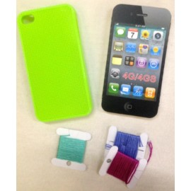 Cover Iphone 4 da ricamare - giallo