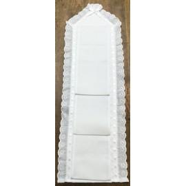 Porta rotoli carta igienica - col. Bianco