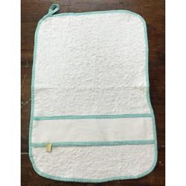 Asciugamano asilo verde acqua