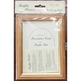 Cornice in legno chiaro - 14x18 cm