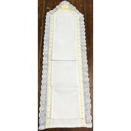 Porta rotoli carta igienica - nastro giallo