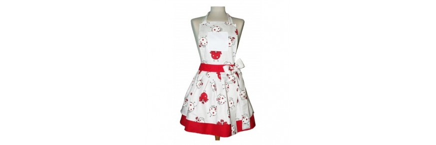 Aprons-waist and bib