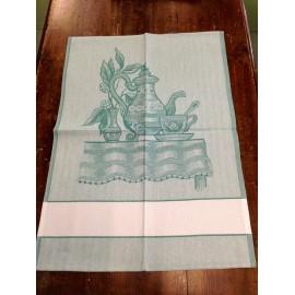 Cloth teapot green