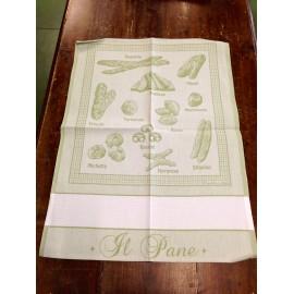 Strofinaccio pane verde