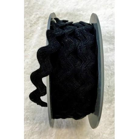 Trimmings h. 1.5 cm, black