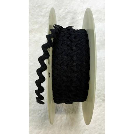 Passamaneria h.1cm, nero