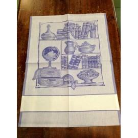 Strofinaccio libreria blu