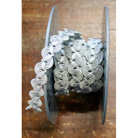 Trimmings h. 1 cm light grey