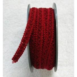 Passamaneria h. 1 cm, rosso