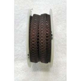 Braid h 1 cm brown