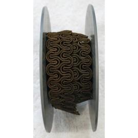Passamaneria h 2 cm, marrone