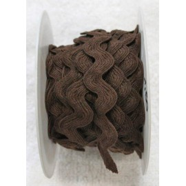 Braid h 1 cm, brown