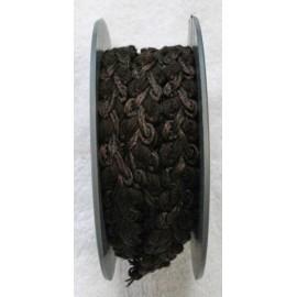 Passamaneria h 1.5 cm, marrone
